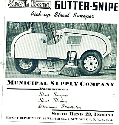 South Bend Gutter snipe ad 1946 (Image1)