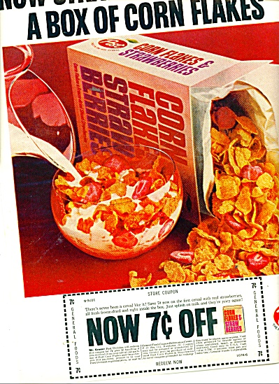 Post Corn Flakes ad 1965 (Image1)