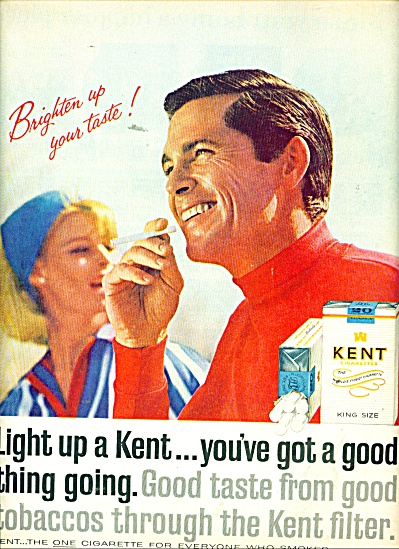 Kent Cigarettes ad 1965 (Image1)