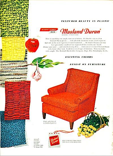 Masland Duran plastic ad 1955 (Image1)