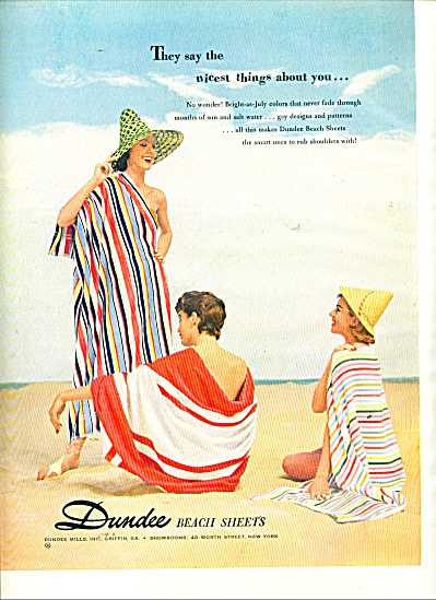 Dundee Beach sheets ad 1955 (Image1)