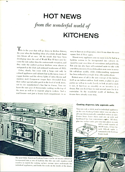 Hot News from the wonderful world of kitchens (Image1)