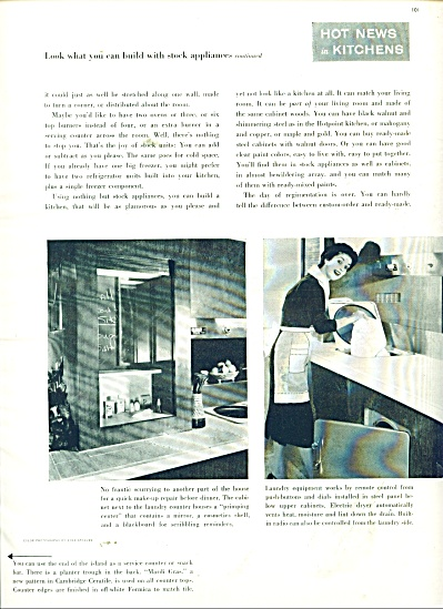 Hot news in kitchens  & dream kitchens  1955 (Image1)