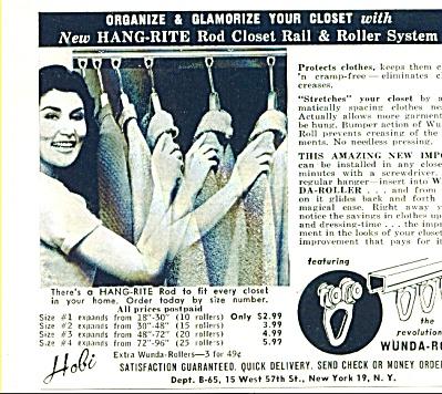 Wunda Roll - Hang rite road ad 1955 (Image1)