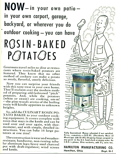Rosin Baked potatoes ad 1955 (Image1)