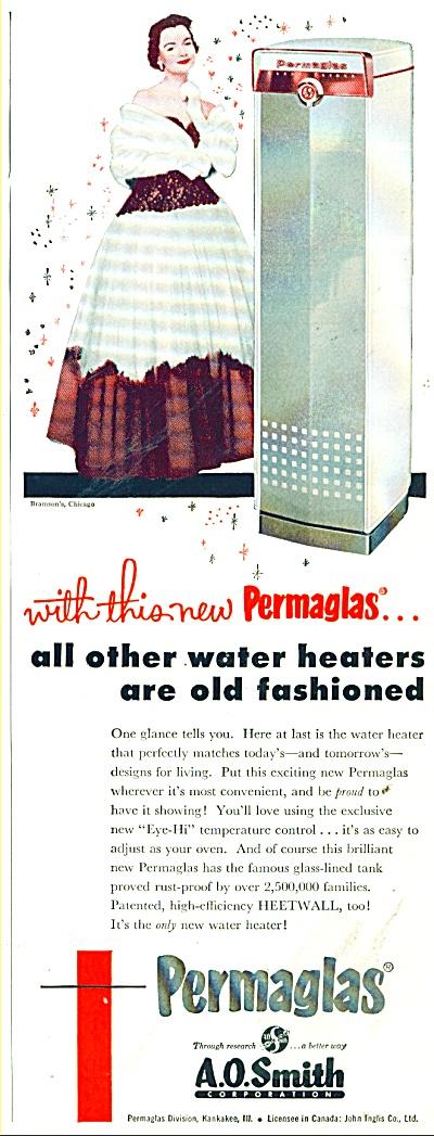 Permaglas water heater ad 1955 (Image1)