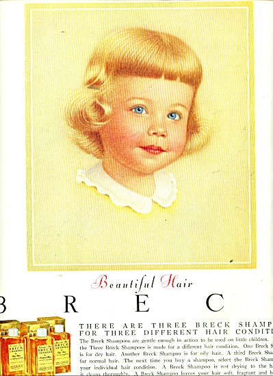 Breck shampoos ad 1956 (Image1)
