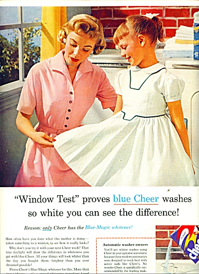 Cheer Washer soap ad 1956 (Image1)