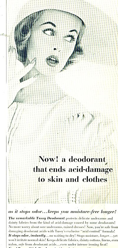 Tussy Deodorants ad 1956 (Image1)