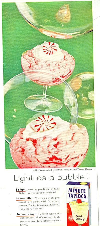 Minute Tapioca - ad  1956 (Image1)