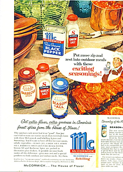 McCormick and Schilling spices ad 1956 (Image1)