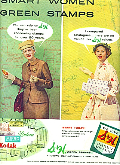 S & H Green Stamps ad 1956 (Image1)