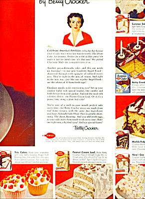 Betty Crocker of General Mills ads 1956 (Image1)