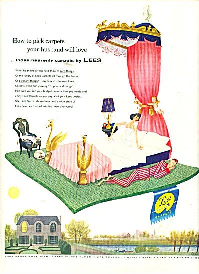 Lees Heavenly carpets ad1956 (Image1)