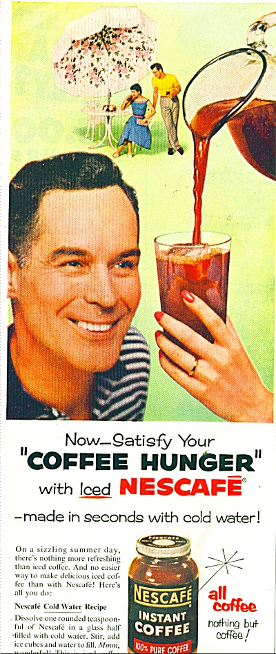 Nescafe instant coffee ad 1956 (Image1)