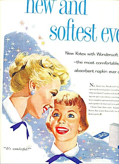 1956 KOTEX AD Jon Whitcomb ART (Image1)