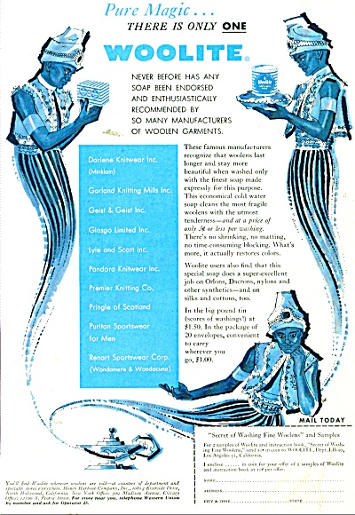 Woolite soap ad 1956 (Image1)