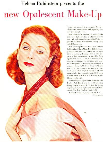 1956 SUZY PARKER Helene Rubinstein MakeUp AD (Image1)
