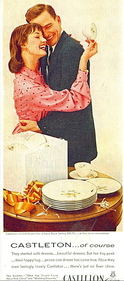 Castleton China ad 1956 (Image1)