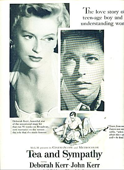 2956 Movie AD : aTea and Sympathy - DEBORAH KERR (Image1)