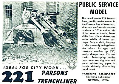 Parson trenchliner ad 1946 (Image1)