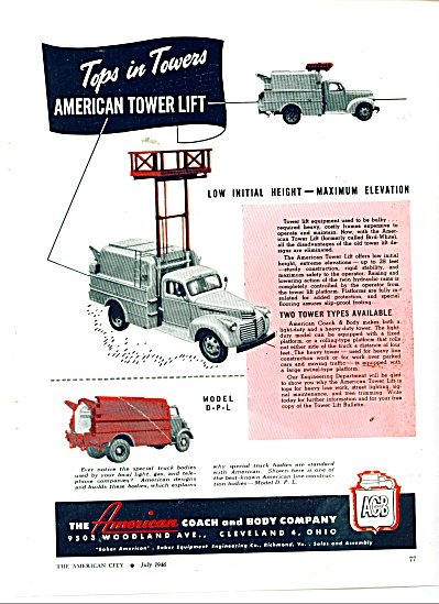 The American Coach and body company ad (Image1)