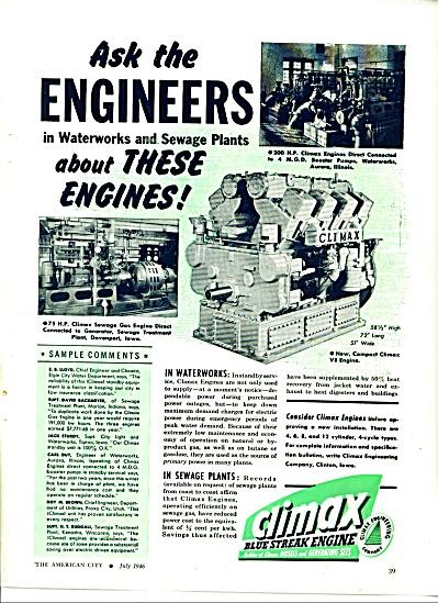 Climax blue streak engines ad 1946 (Image1)
