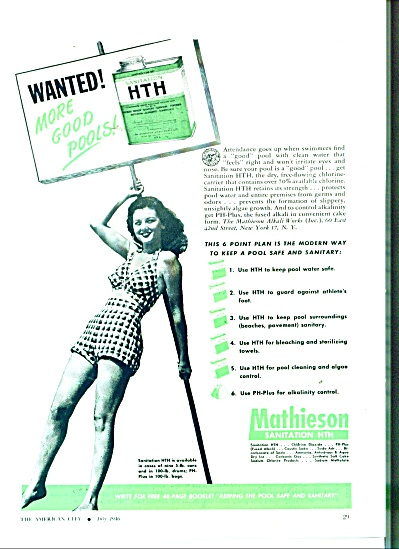 Mathieson Sanitation HTH ad 1946 (Image1)