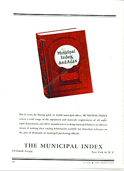 The Municipal Index ad 1946 (Image1)