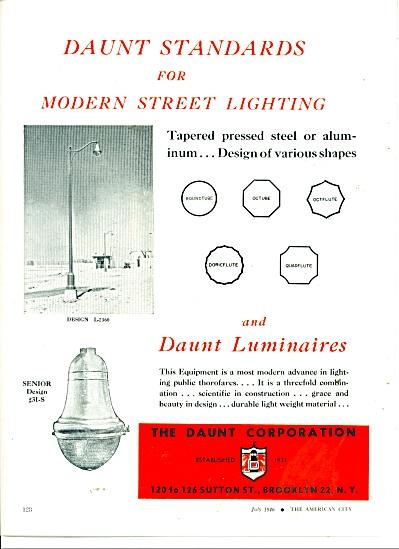 The Daunt Corporation - Modern street lightin (Image1)