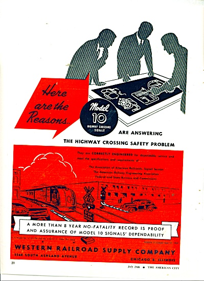 Western Railroad supply company ad 1946 (Image1)