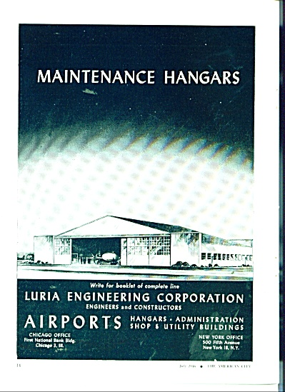 Luria Engineering Coerporation -Airports ad (Image1)
