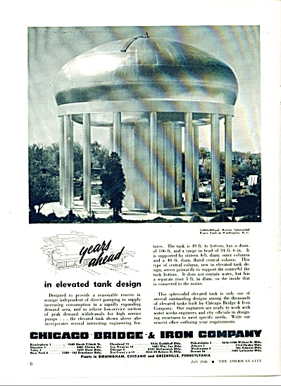 Chicago Bridge & Iron Company ad 1946 Hort Spheroidal (Image1)