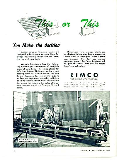 EIMCO  Corporation - ad 1946 (Image1)