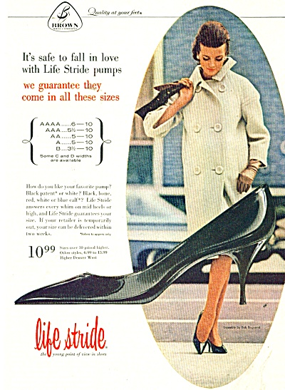 Life Stride shoes ad 1946 (Image1)
