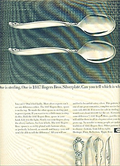 . Silverplate sterling ad 1964 (Image1)