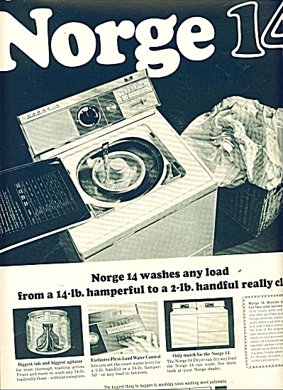 Norge clothes washer ad 1964 (Image1)