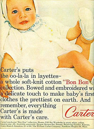 1964 Carters Bon Bon AD OO-LA-LA Layette (Image1)
