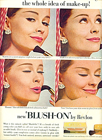 1964 Revlon SUSAN VAN WYCK Model Cosmetics AD (Image1)