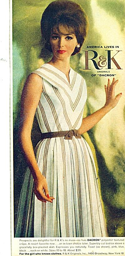 1964 R & K - originals of Dacron  AD Beauty M (Image1)