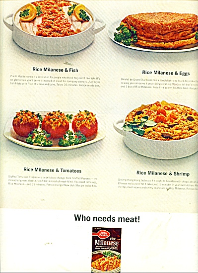 Betty Crocker rice milanese ad 1964 (Image1)
