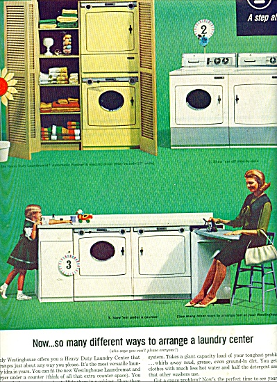 Westinghouse washers and dryers ad 1964 (Image1)