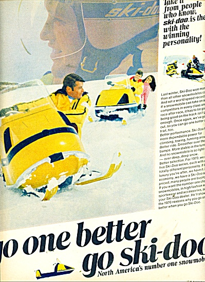 1961 Ski - doo Snowmobile AD (Image1)