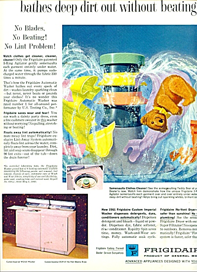 Frigidaire washer and dryer ad 1961 (Image1)