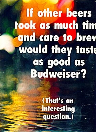 Budweiser Beer ads 1969 (Image1)