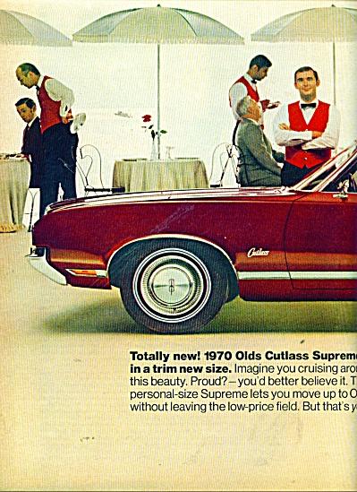 Oldsmobile Cutlass Supreme for 1970 ad (Image1)