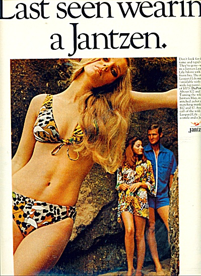 Jantzen bathing suits ad 1970 (Image1)