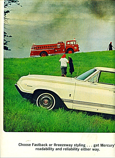 Mercury Automobile Ad 1964