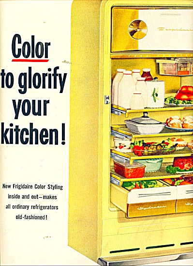 Frigidaire color styling inside and out  ad (Image1)