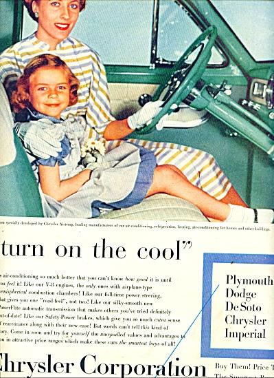 Chrysler Corporation.   Chrysler Airtemp ad (Image1)